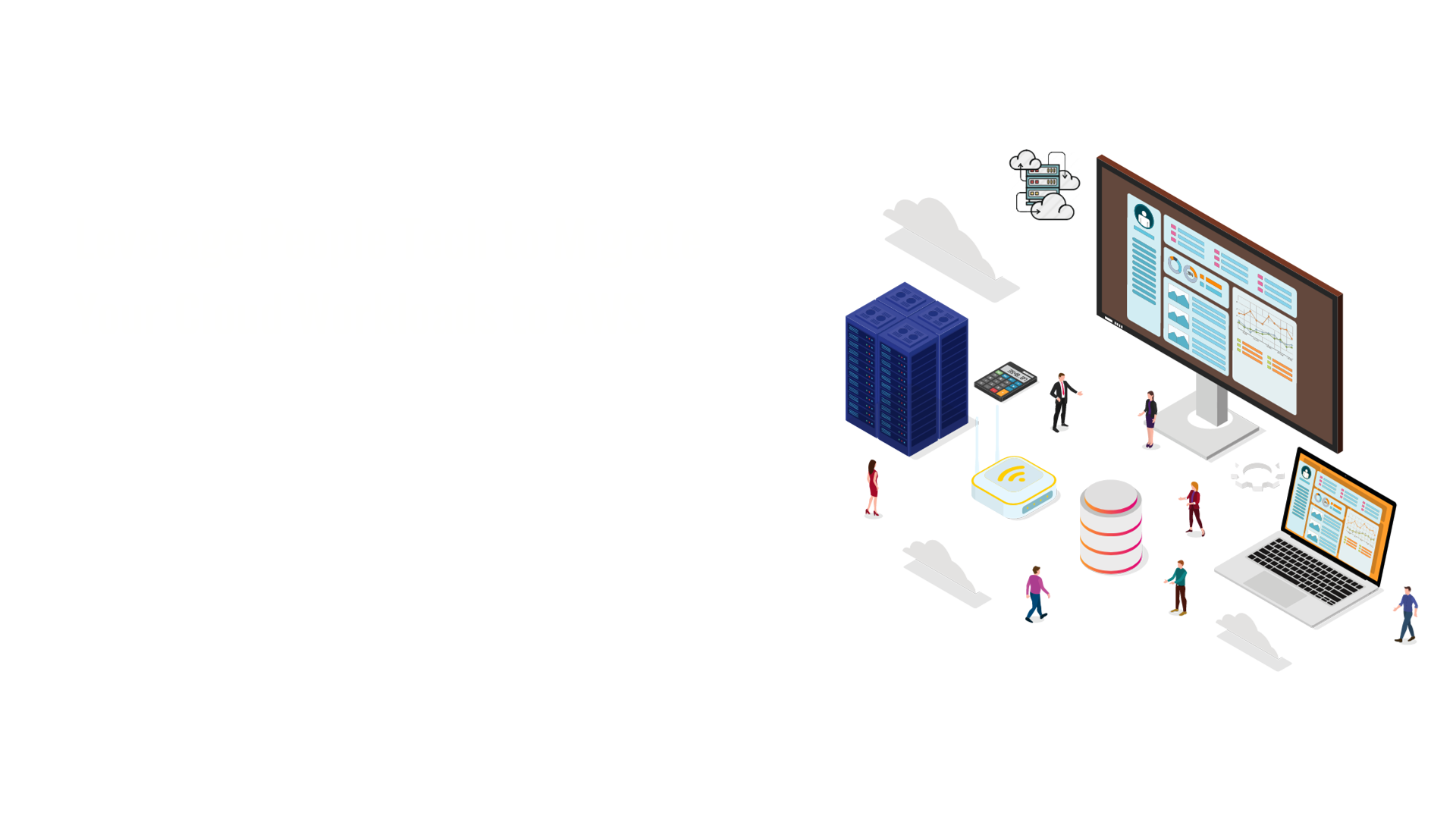 AWS banner image with text